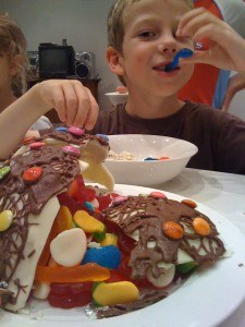 chocolate bowl pinyata filled with lollies howtocookthat ann reardon