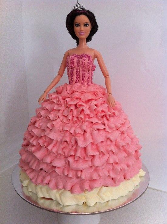 Doll Cake Buttercream Buttercream Princess Doll