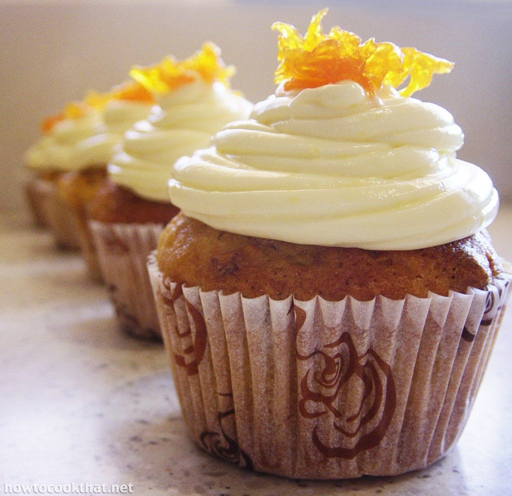 recipe carrot cupcake cream cheese frosting 2 how to cook that ann ...