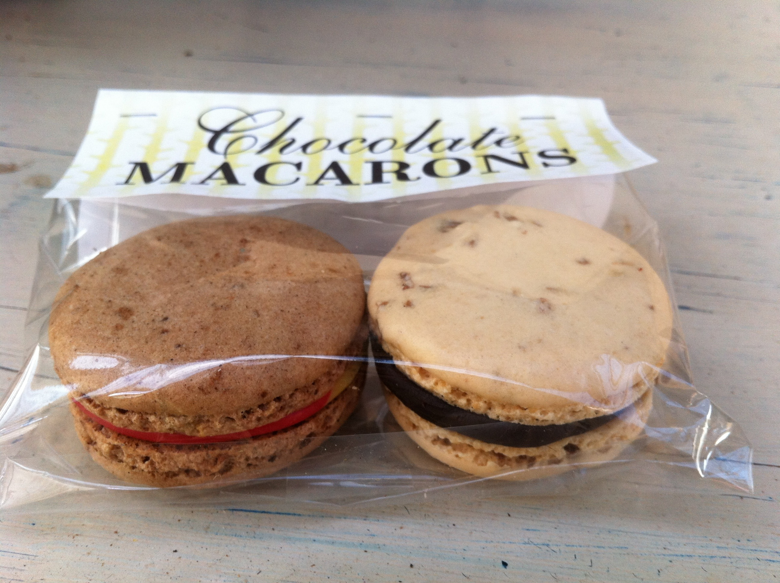 Chocolate | Chocolate Macaron Recipe (Macaroons) with ginger ganache ...