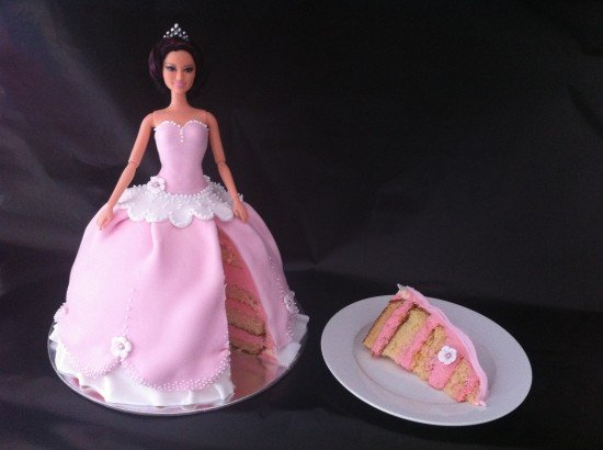 Make Doll Birthday Cake