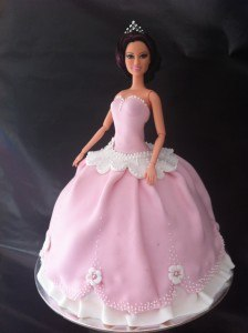 How To Make A Doll Cake Without The Pan