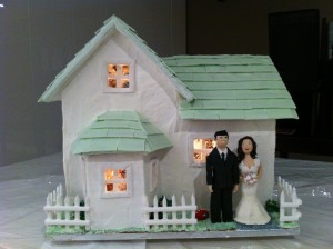 wedding cake gingerbread house howtocookthat ann reardon
