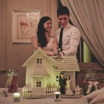 amazing wedding cake gingerbread house