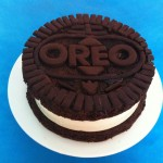 giant oreo no bake cheesecake recipe how to cook that