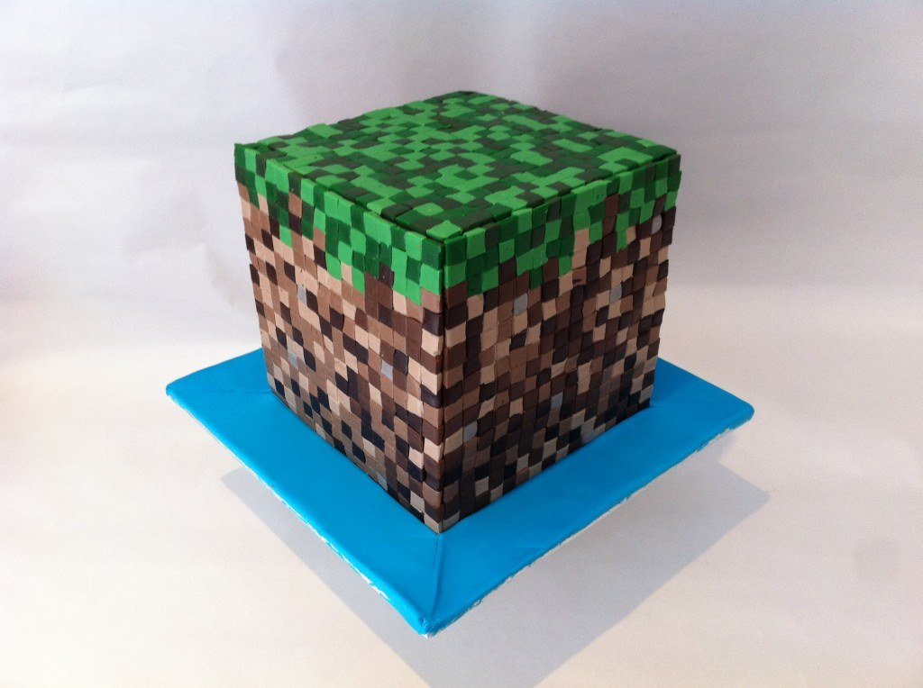 HowToCookThat Cakes Dessert Chocolate 3D Minecraft Fondant