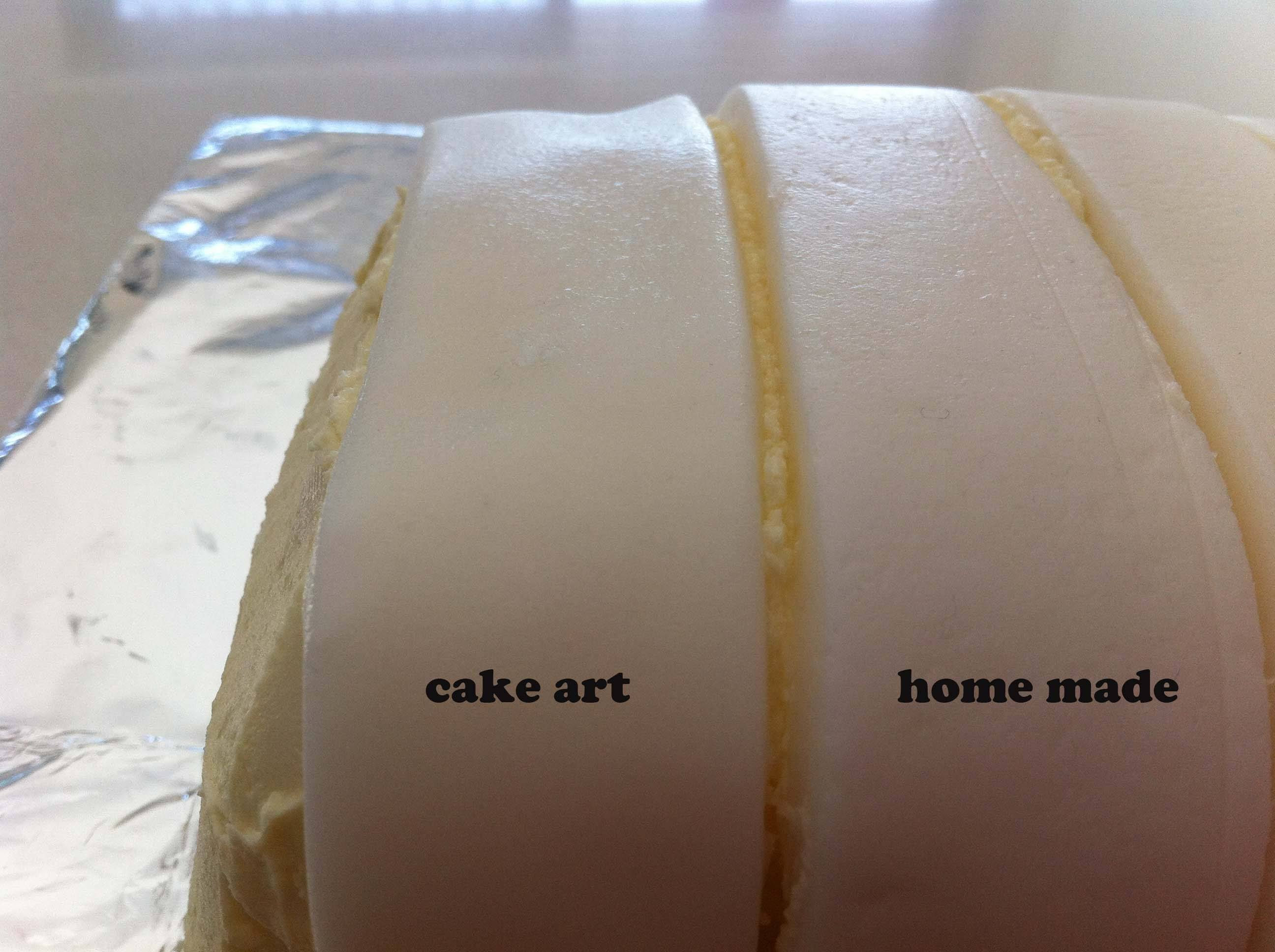 Fondant review satin ice bakels petinice marshmallow