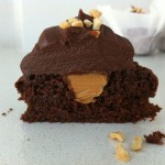 chocolate peanut butter cupcake recipe