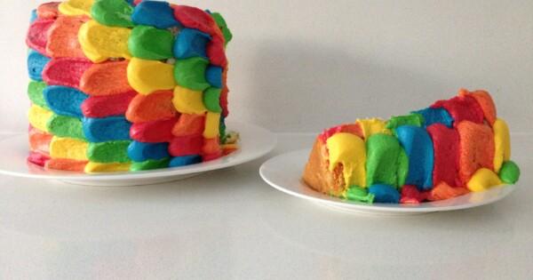 Cakes dessert amp chocolate rainbow cake howtocookthat cakes