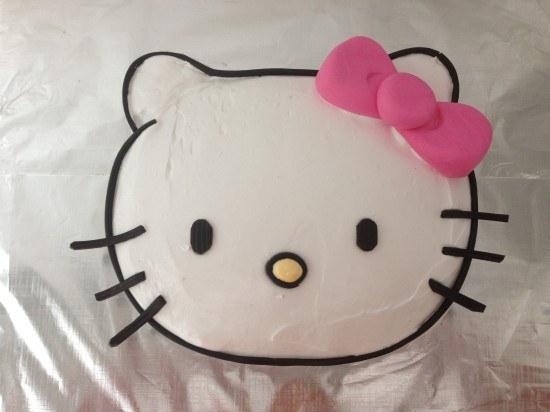 HowToCookThat Cakes Dessert Chocolate Hello Kitty Cake