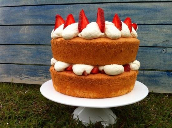 Chocolate liquid sponge cake