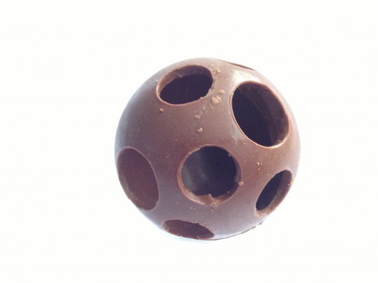 chocolate sphere ball tutorial