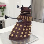 dalek cake doctor who