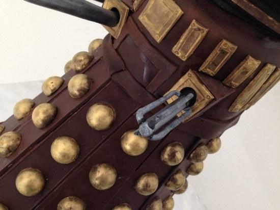dalek cake doctor who dr