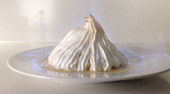 bombe alaska flamber how to cook that