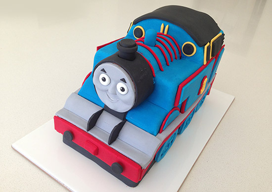 image about Free Printable Thomas the Train Cup Cake Toppers identified as HowToCookThat : Cakes, Dessert Chocolate 3D Thomas Coach