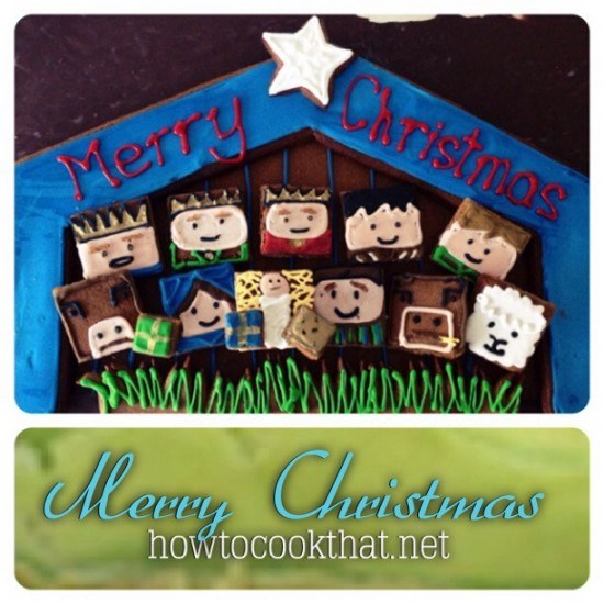 ginger bread nativity how to cook that