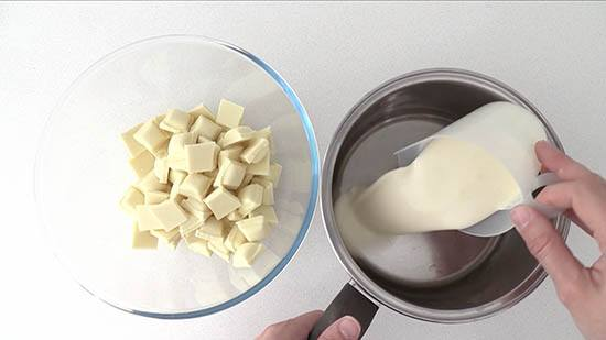 white chocolate ganache how to ann reardon