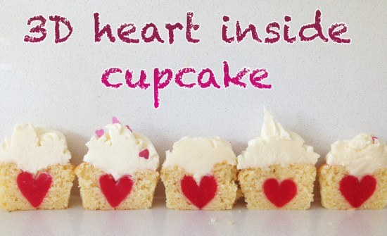 HowToCookThat : Cakes, Dessert & Chocolate Heart Cupcake ...