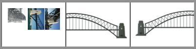chocolate sydney harbour bridge template