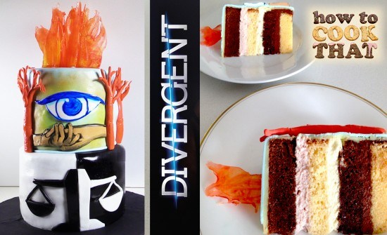 divergent movie cake how to cook that