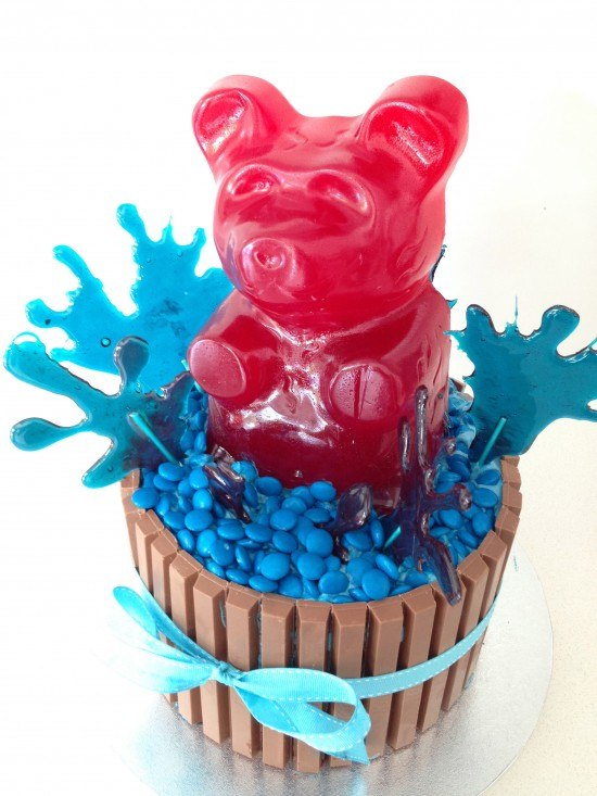 How Do You Make A Gummy Bear Cake