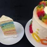 rainbow loom band cake how to cook that