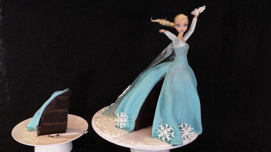 frozen elsa cake how to cook that video tutorial