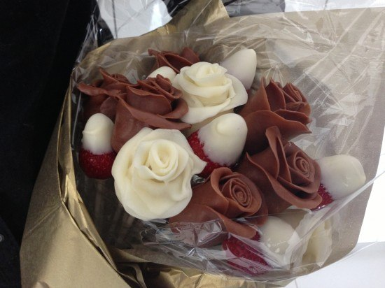How To Make Chocolate Covered Strawberry Flowers