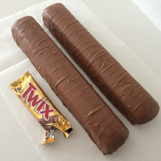 giant twix bar recipe by Ann Reardon