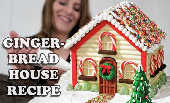 Gingerbread House Recipe Ideas 2014