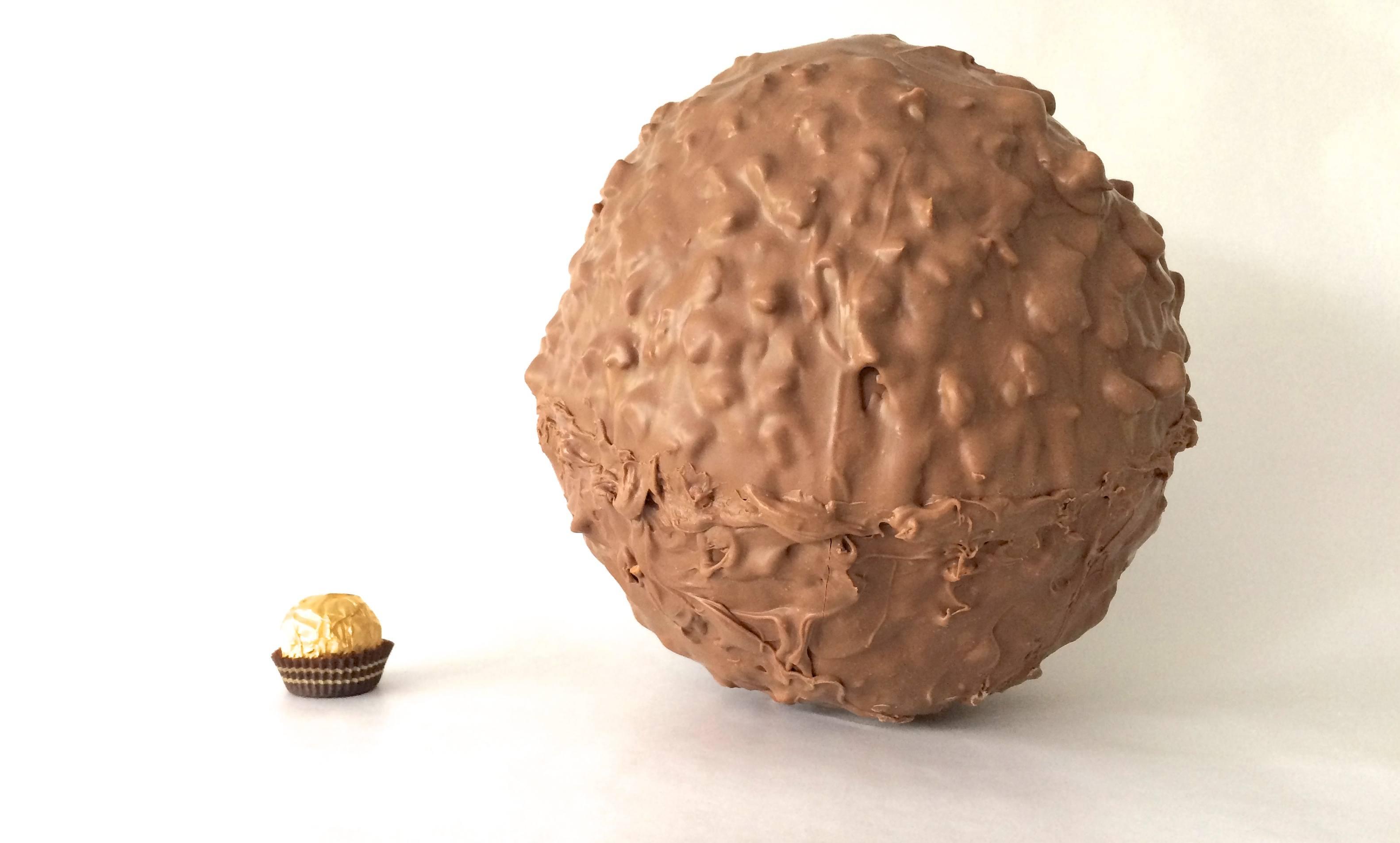 Giant Chocolate Bar Cake Gif