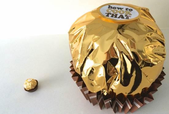HowToCookThat : Cakes, Dessert & Chocolate   Giant Ferrero Rocher ...