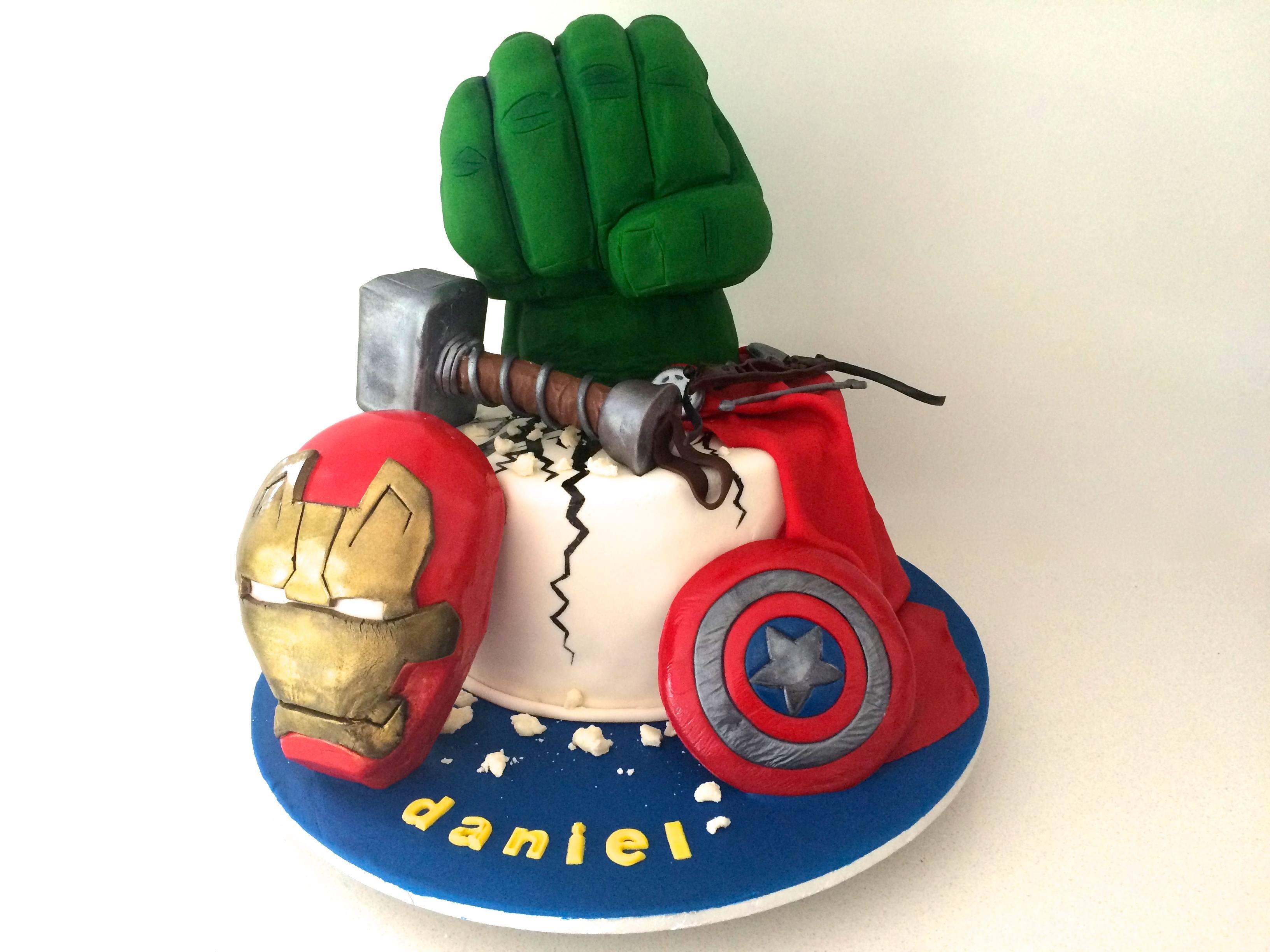 Cake Design Avengers : HowToCookThat : Cakes, Dessert & Chocolate Marvel ...