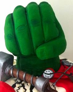 hulk cake how to cook that