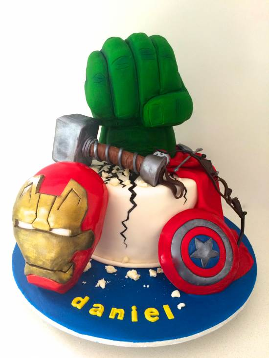 How To Make An Avengers Birthday Cake