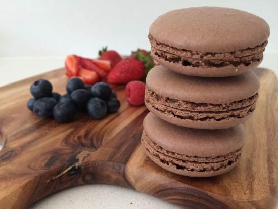 chocolate macaron ann reardon