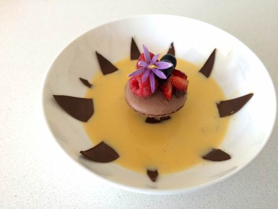 chocolate flower dessert ann reardon