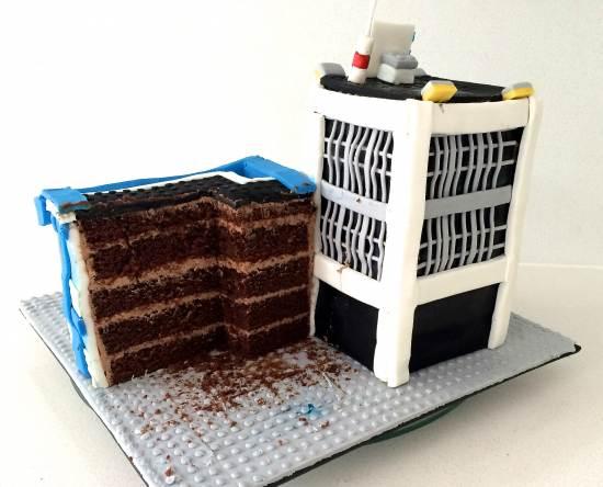 lego city cake howtocookthat