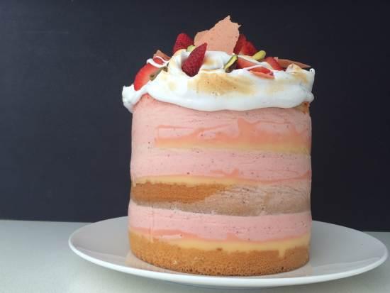 strawberry mousse cake recipe ann reardon