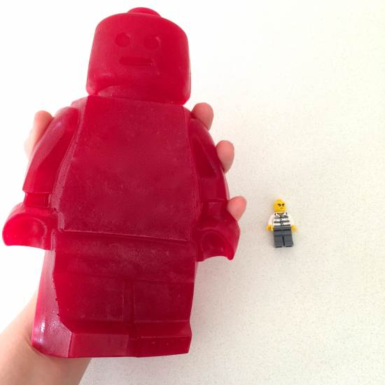 how to make a giant lego man
