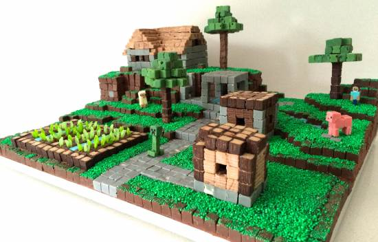 Minecraft Cake Design Ideas