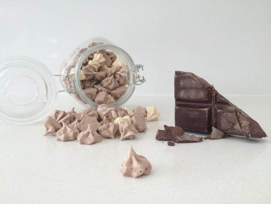 chocolate meringue kisses how to cook that