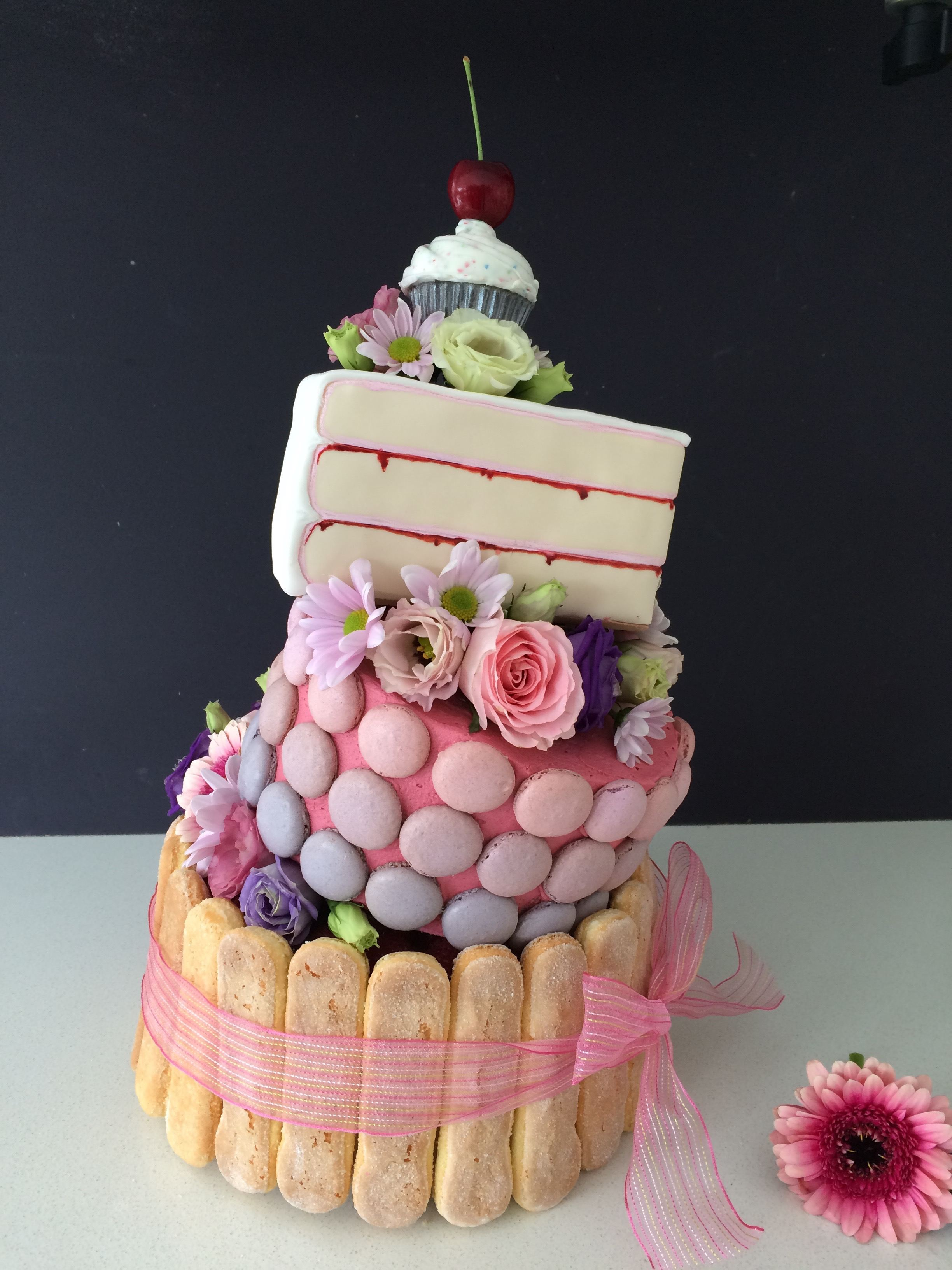 Wonky Wedding Cake