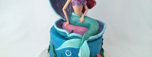 ariel little mermaid cake ann reardon