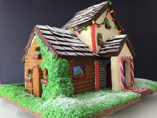 gingerbread house template two story  HowToCookThat : Cakes, Dessert & Chocolate | Two Storey ...