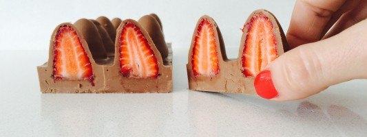 strawberry chocolate by ann reardon