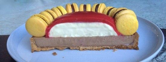 macaron tart recipe entremet Ann Reardon