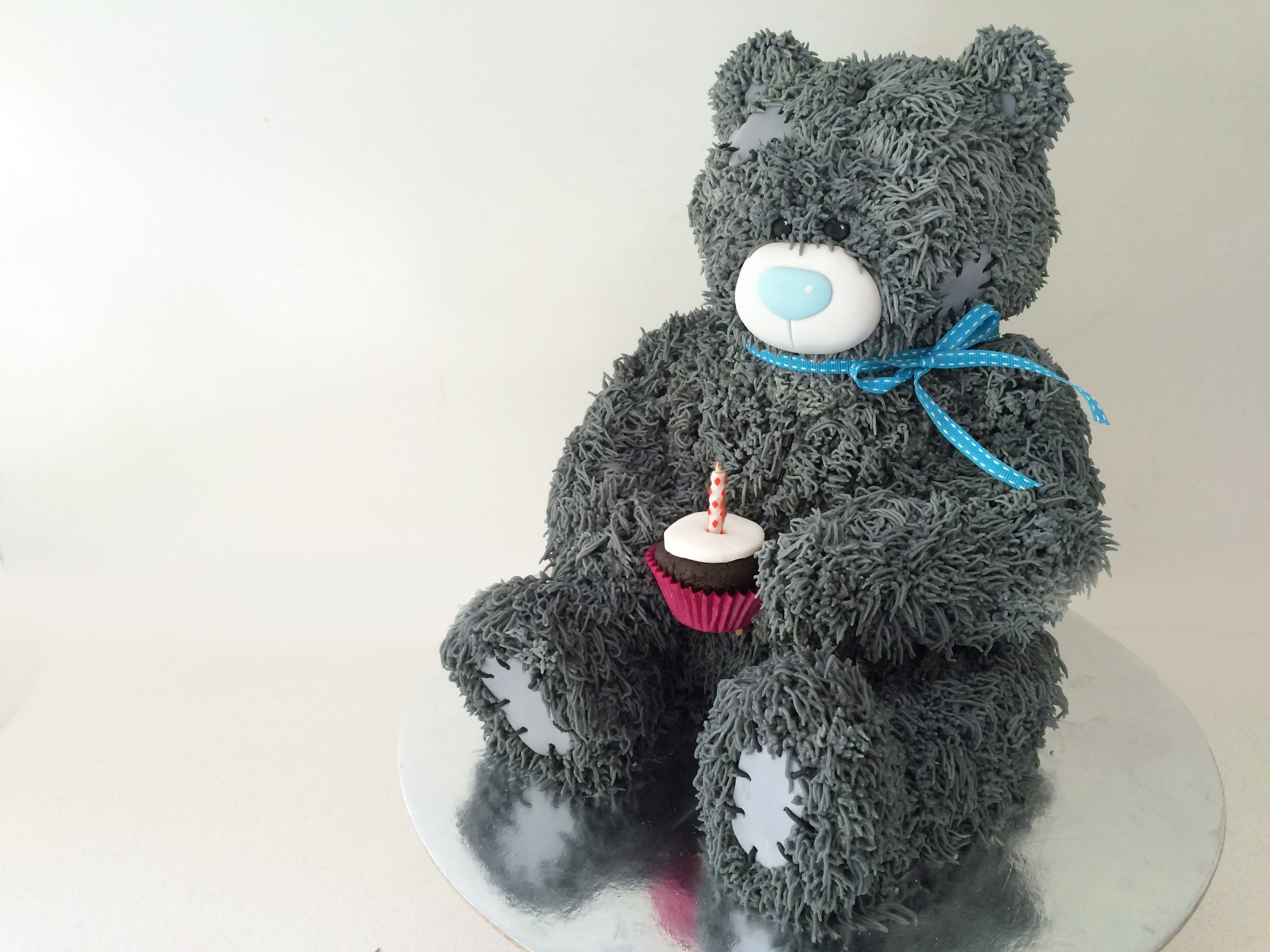 howtocookthat cakes dessert chocolate teddy bear cake