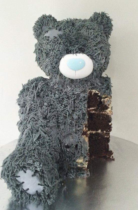 3d teddy bear cake ann reardon